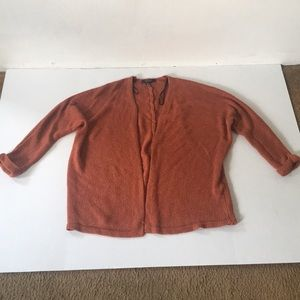 Rusted Colored Forever 21 Cardigan